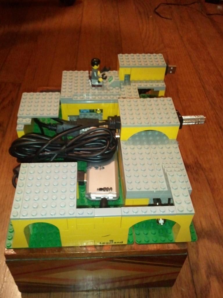 Raspberry Pi lego scanner contraption