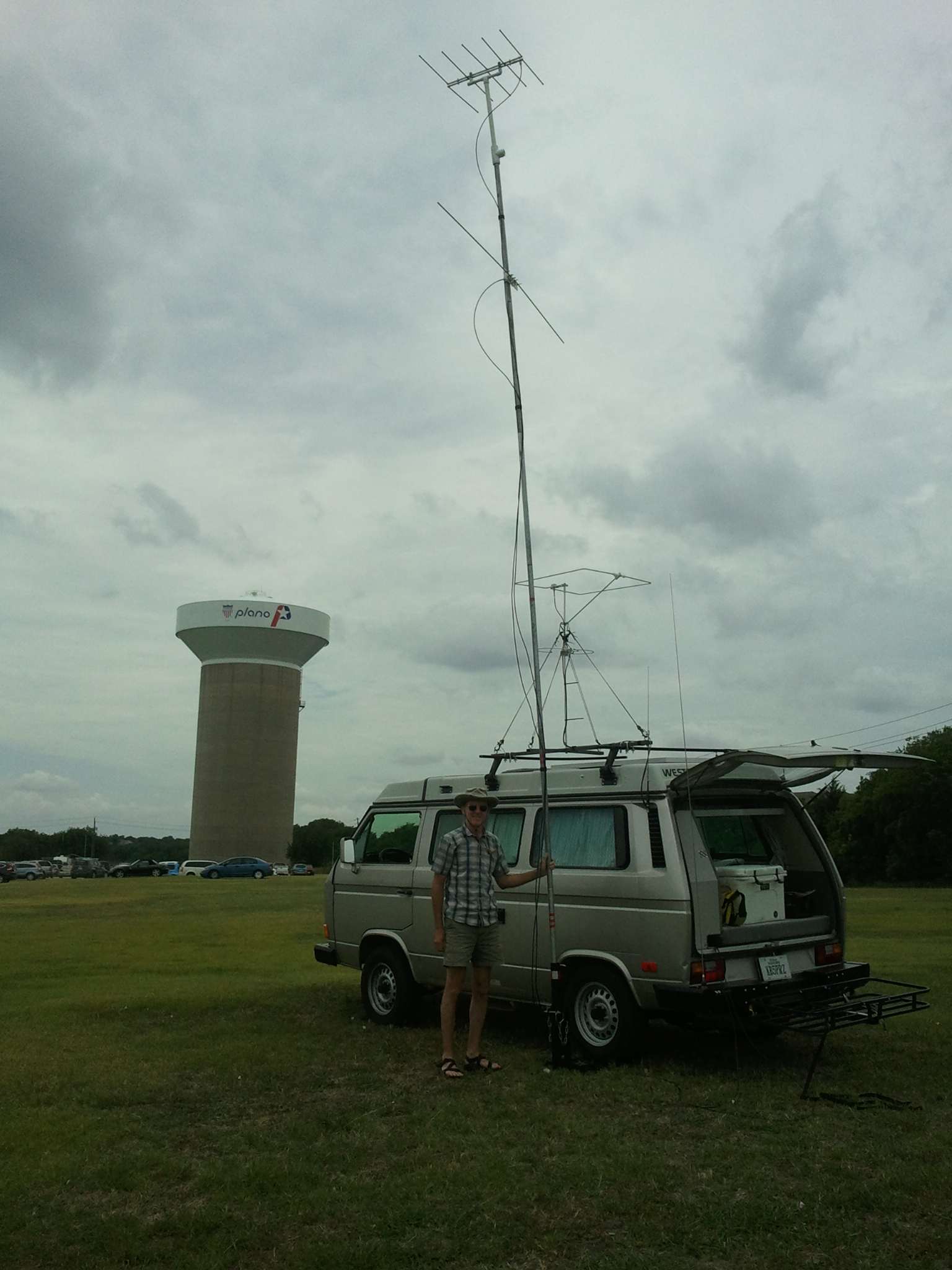 Getting ready for the June 2015 VHF contest
