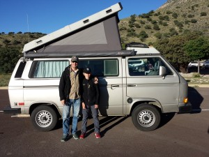 KD5EUO and Der Funkwagen at Guadalupe Mountains National Park