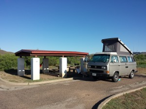 A refreshing pause at Balmorhea State Park